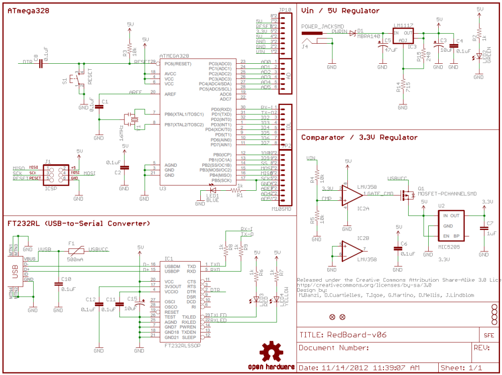 medium resolution of how to read a schematic learn sparkfun com schematic wire diagram example of a sectioned schematic