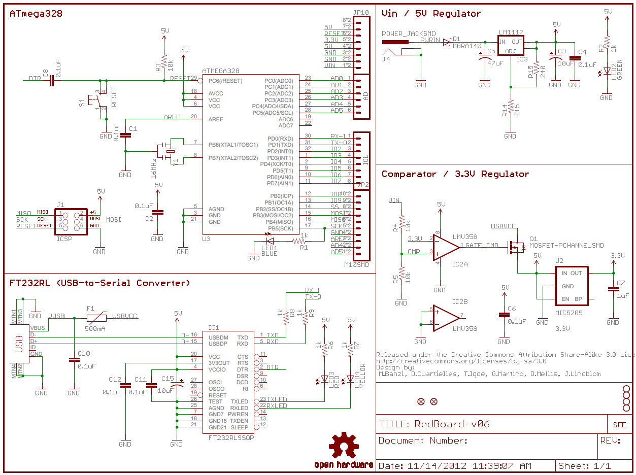 hight resolution of how to read a schematic learn sparkfun com flasher wiring diagram symbol example of a sectioned