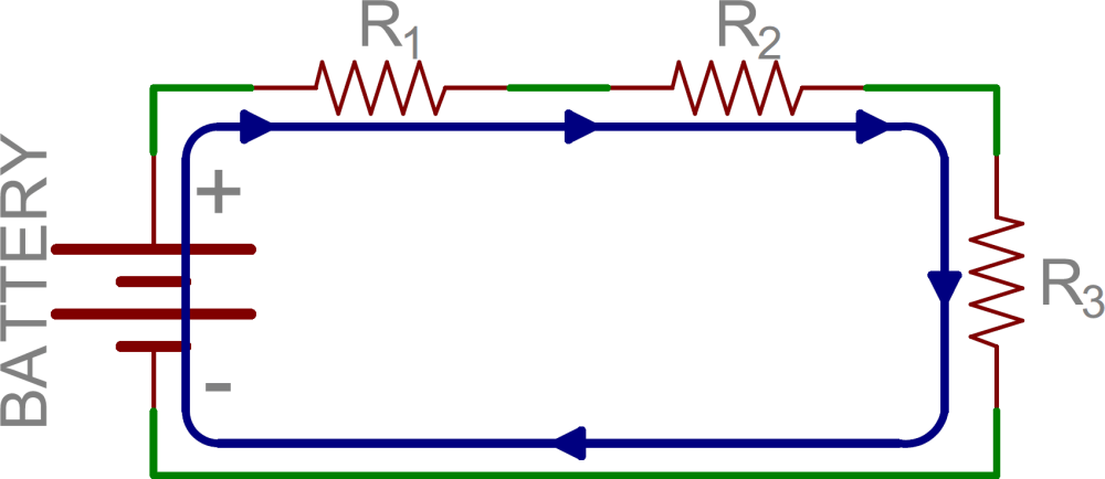 medium resolution of schematic three resistors in series
