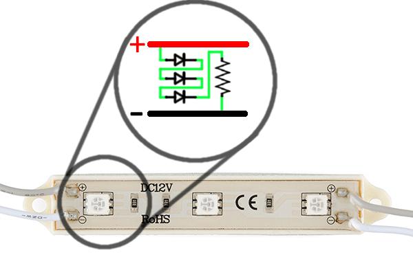 led lighting wiring diagram 2001 subaru forester headlight light bar hookup learn sparkfun com schematic