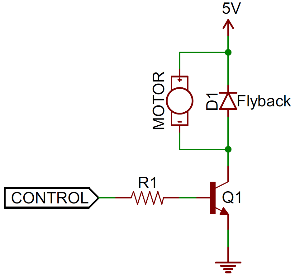 hight resolution of flyback diode circuit