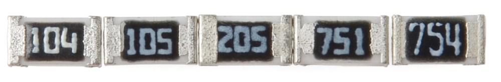 medium resolution of examples of e 24 marked smd resistors