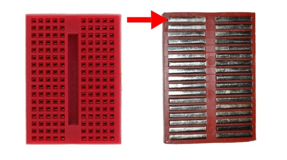 medium resolution of sparkfun mini breadboard