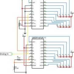 Led Lighting Wiring Diagram Sccm Deployment Dot Bar Display Driver Hookup Guide Learn Sparkfun Com Cascade Schematic