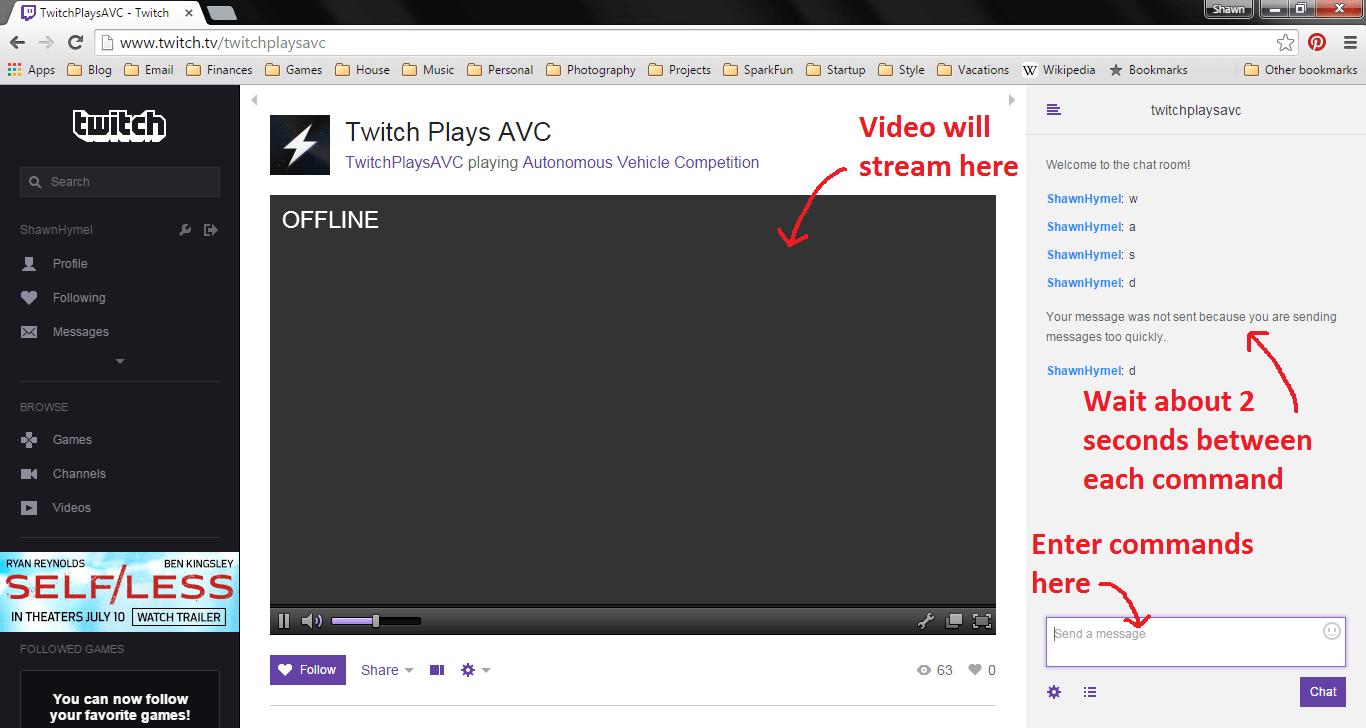twitch plays avc news