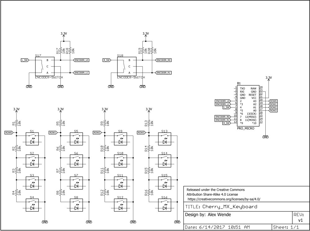 medium resolution of keyboard schematic