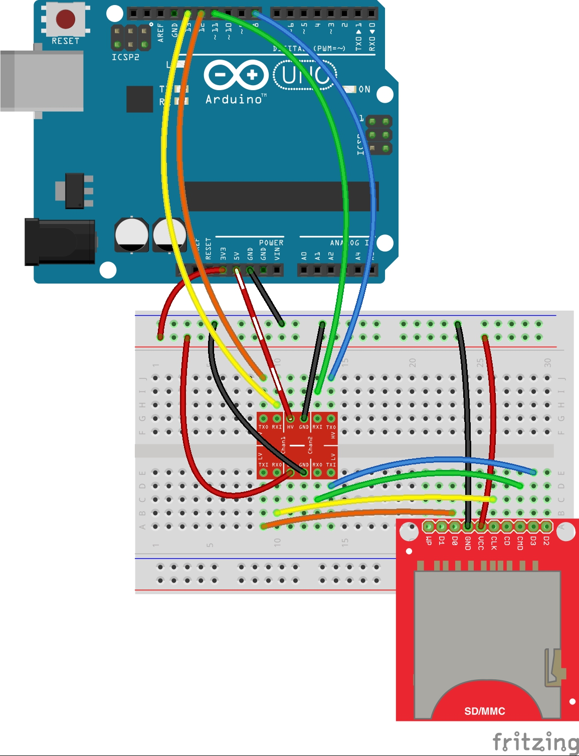 hight resolution of basic sd card reader circuit alt text