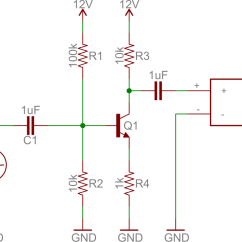 Common Base Configuration Circuit Diagram Toyota Head Unit Wiring Transistors Learn Sparkfun Com Emitter Speaker Amp