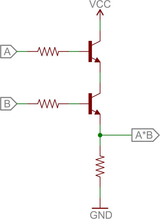 transistor wiring diagram pop up camper transistors learn sparkfun com bjt and circuit