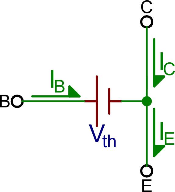 transistor wiring diagram 1991 ford f 150 starter solenoid transistors learn sparkfun com saturation mode model