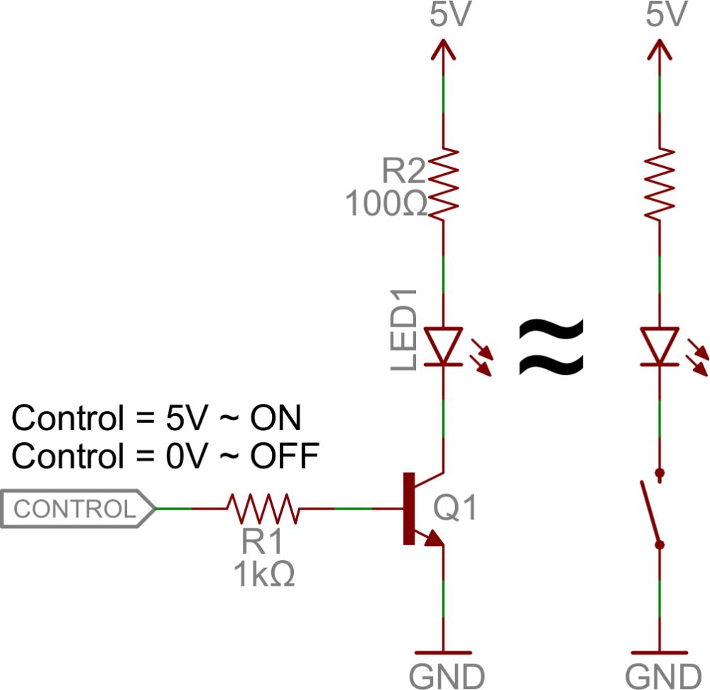 medium resolution of transistor switch