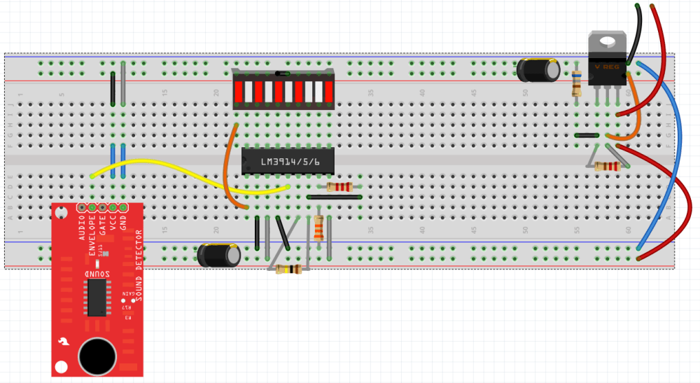 medium resolution of fritzing breadboard