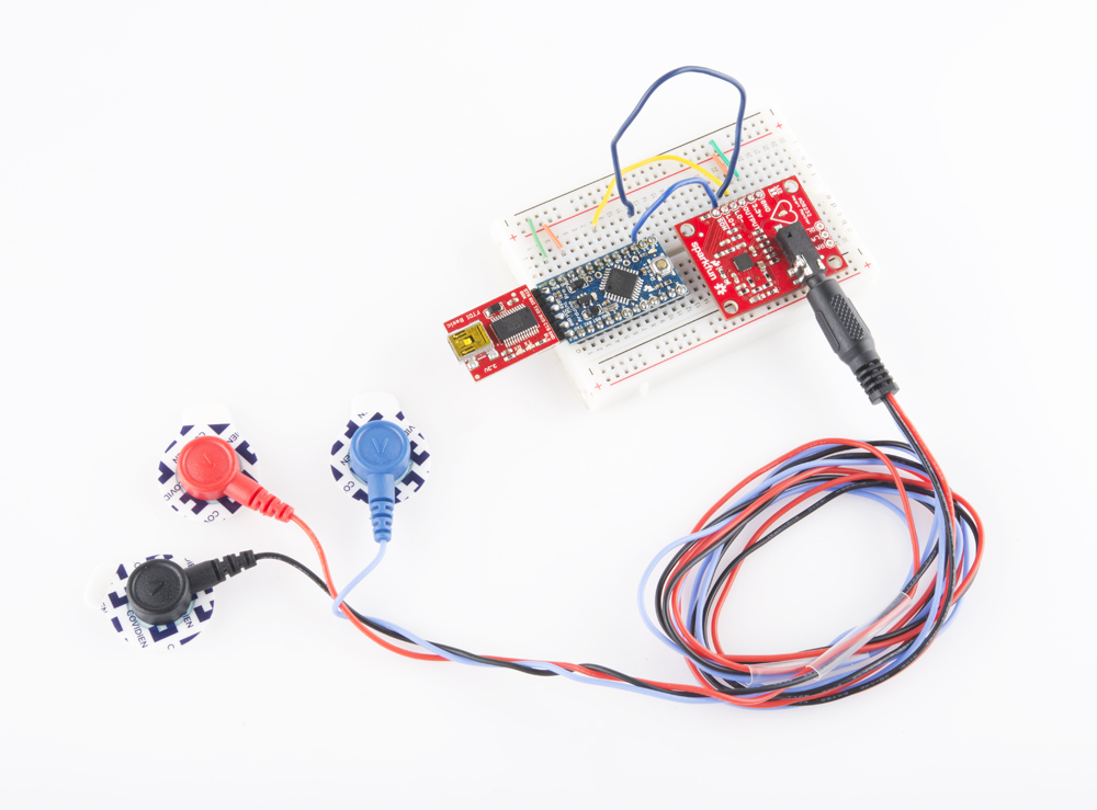 For Micro Usb Wire Color Diagram Ad8232 Heart Rate Monitor Hookup Guide Learn Sparkfun Com