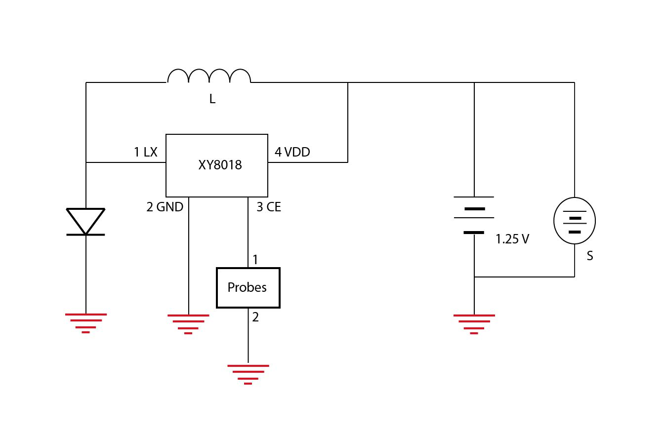hight resolution of final hacked soil sensor circuit