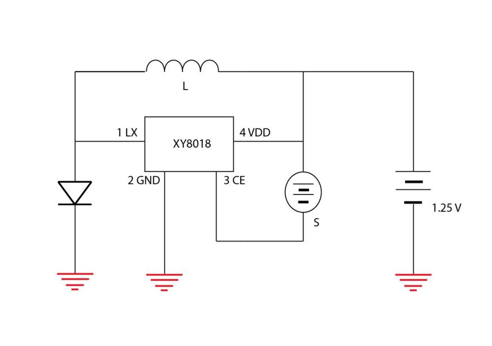 medium resolution of original solar light schematic