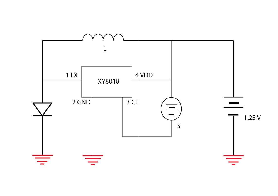 hight resolution of original solar light schematic