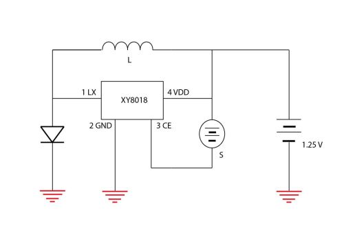 small resolution of original solar light schematic
