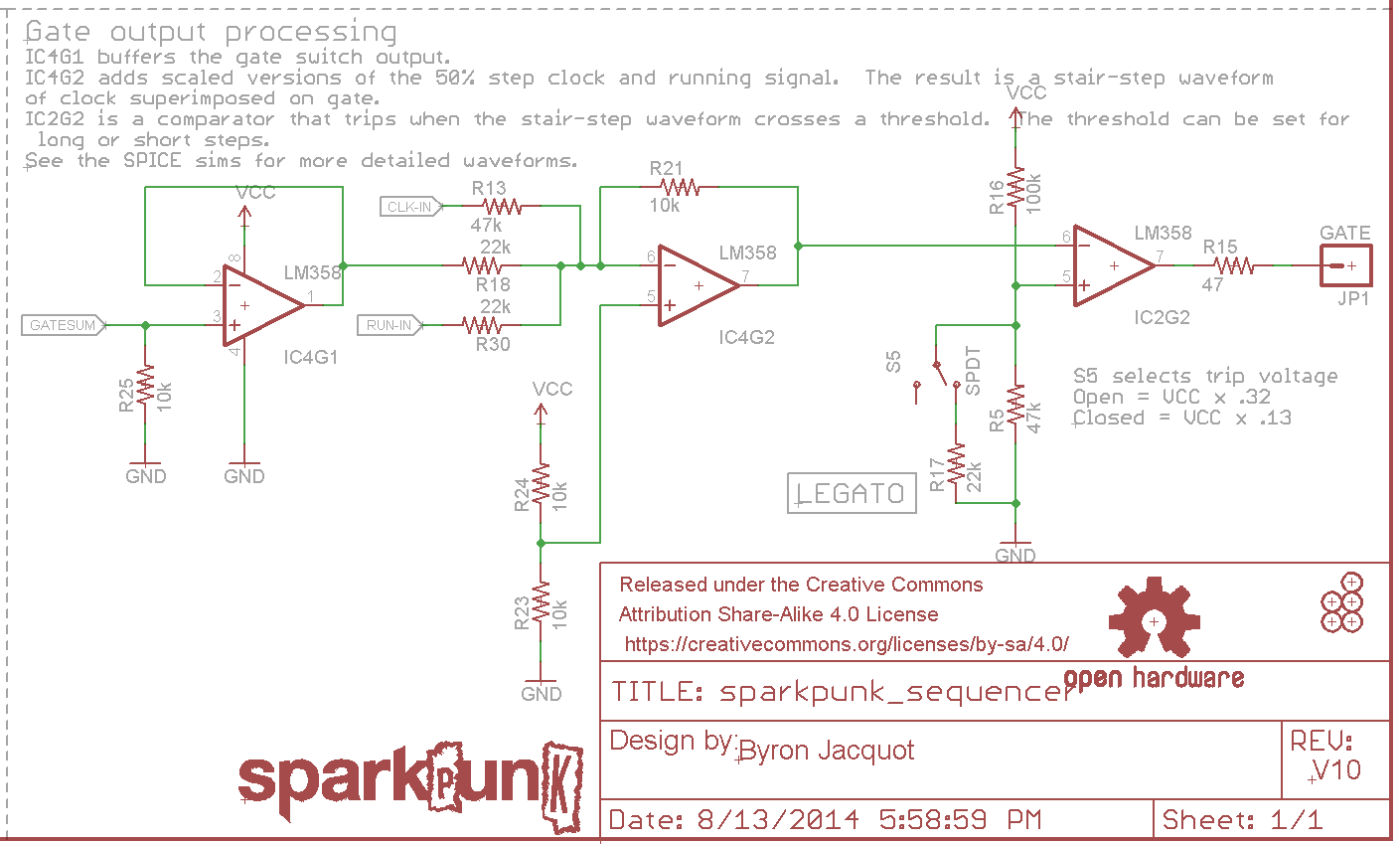 hight resolution of gate circuit