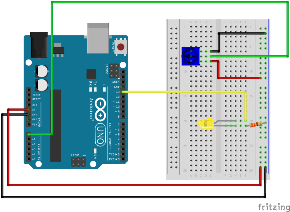 medium resolution of arduino uno fritzing potentiometer