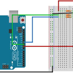 sik experiment guide for arduino v3 2 learn sparkfun com rgb led schematic three leds connected to an arduino board [ 2073 x 1047 Pixel ]
