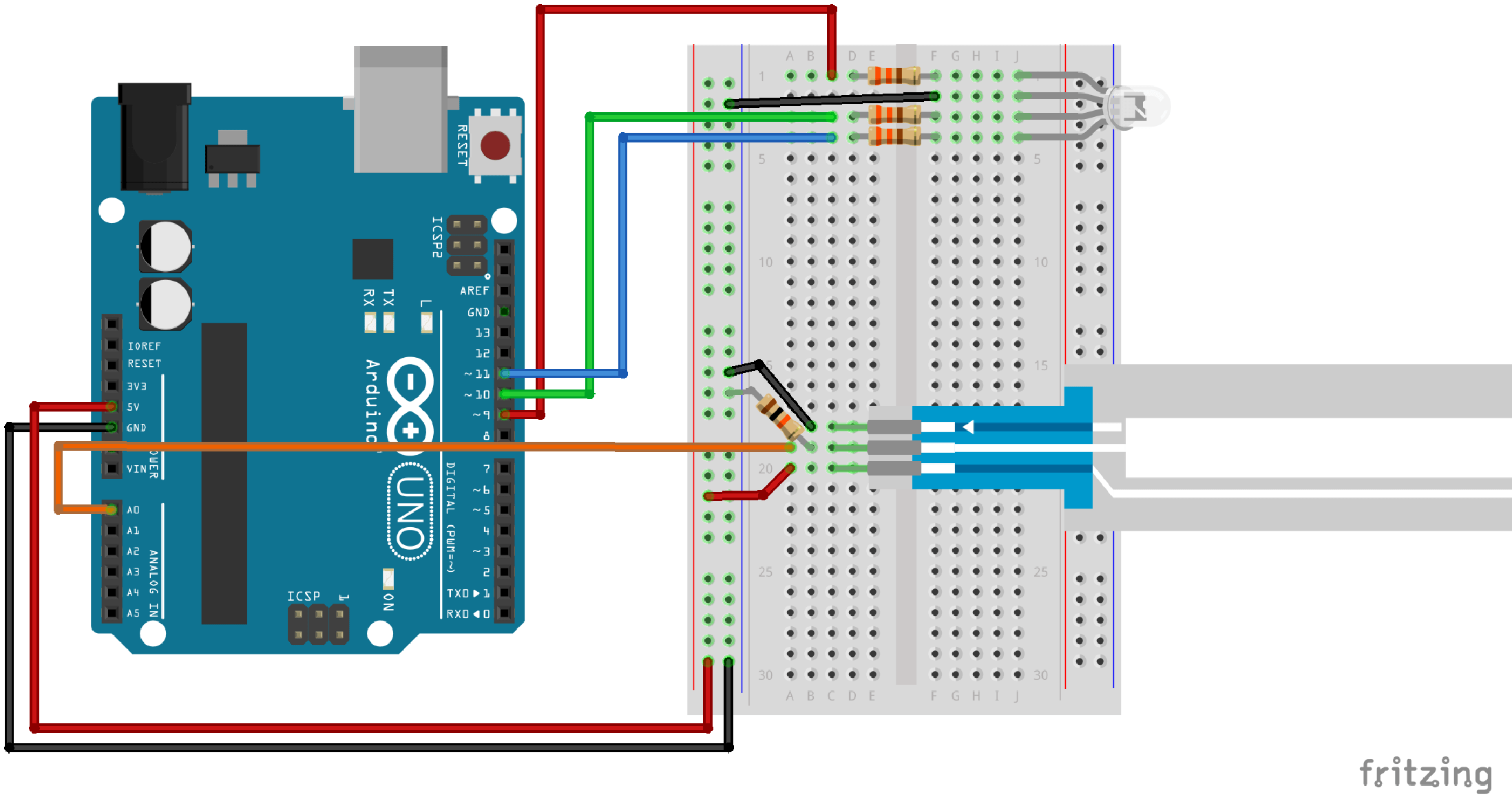 led pot light wiring diagram quad sik experiment guide for arduino v3 2 learn sparkfun