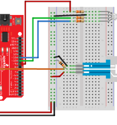 having a hard time seeing the circuit click on the fritzing diagram to see a bigger image  [ 2196 x 1177 Pixel ]