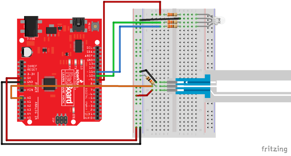 medium resolution of having a hard time seeing the circuit click on the fritzing diagram to see a bigger image