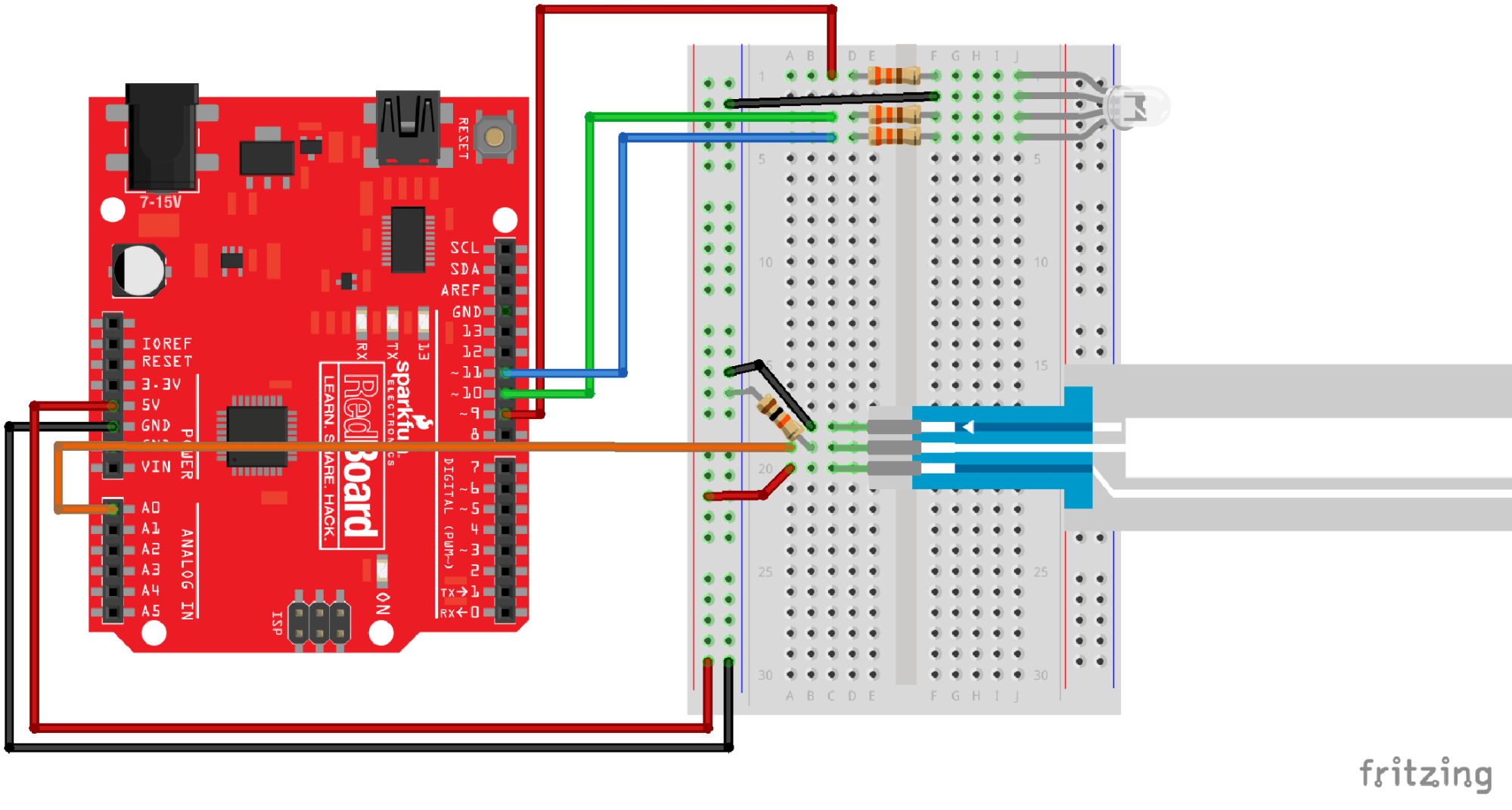 hight resolution of having a hard time seeing the circuit click on the fritzing diagram to see a bigger image