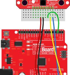 zx sensor to arduino fritzing diagram [ 771 x 1113 Pixel ]