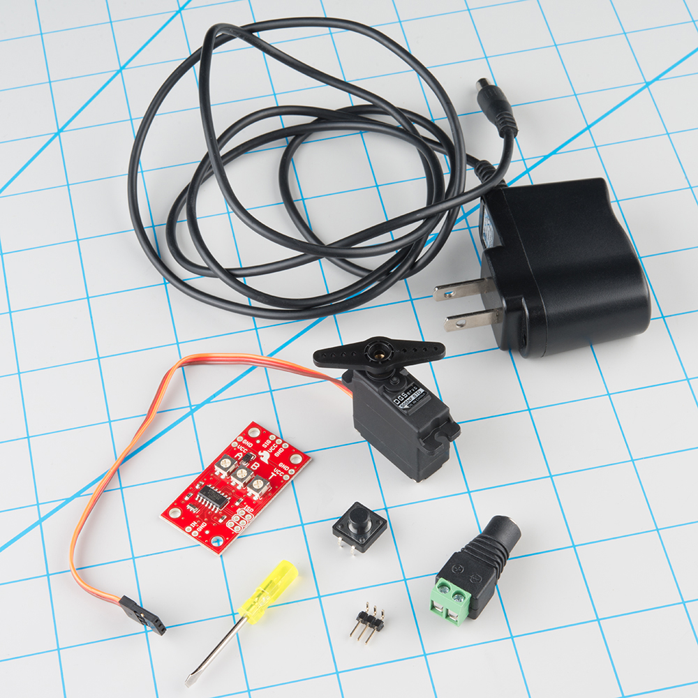 hight resolution of the servo trigger module