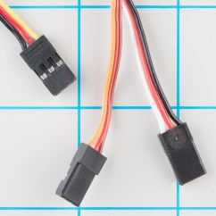 Motion Sensor Light Switch Wiring Diagram Cause And Effect Word Servo Trigger Hookup Guide Learn Sparkfun Com Cable Colors