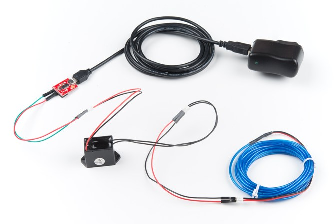 getting started with electroluminescent el wire  learn