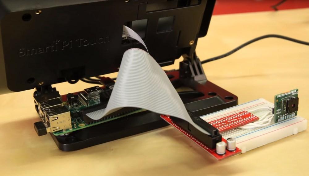 medium resolution of raspbery pi flir lepton thermal camera setup