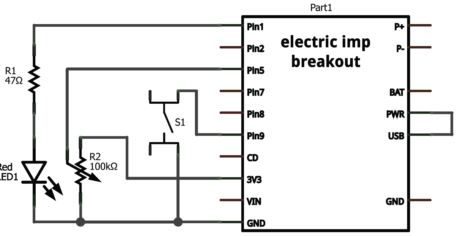 Electric Imp Breakout Hookup Guide