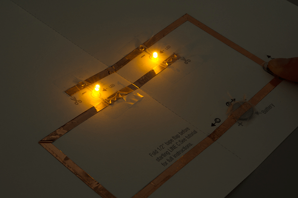 LED Butterfly Pop Up Card Learnsparkfuncom