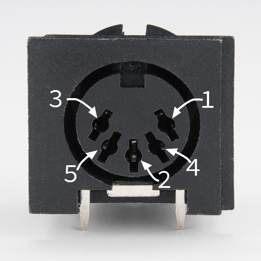 Wiring Diagram 5 Pin Din Connector