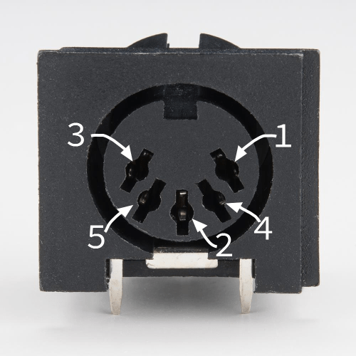 small resolution of 5 pin din connector