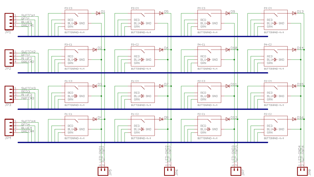 medium resolution of button pad schematic