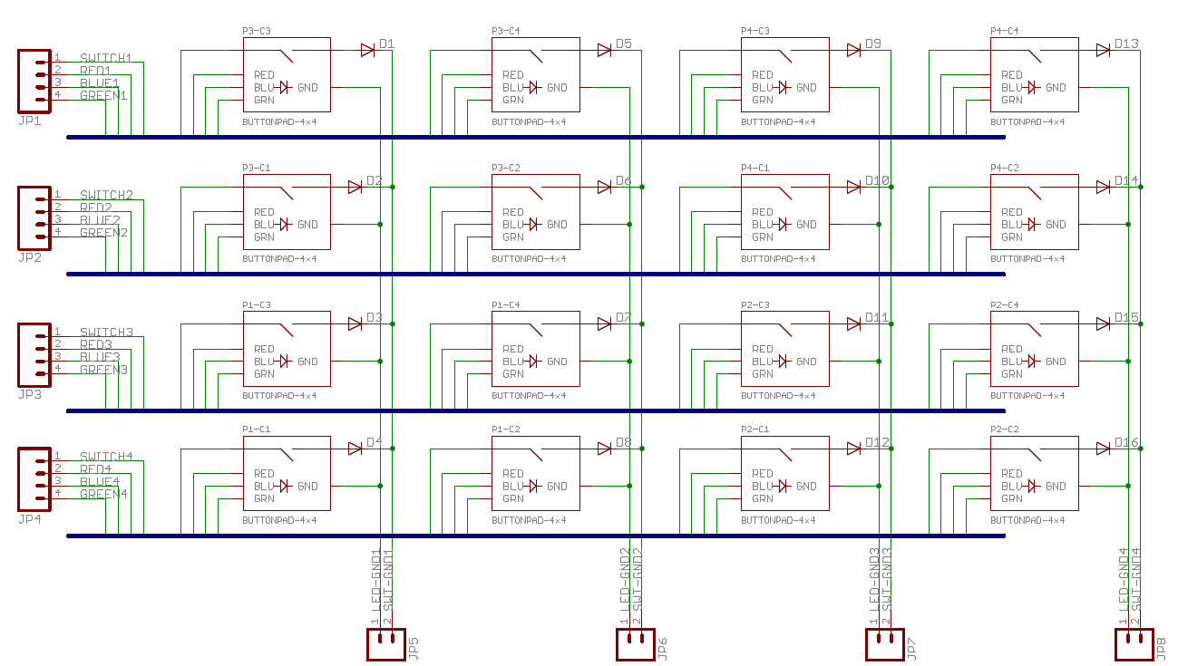 hight resolution of button pad schematic