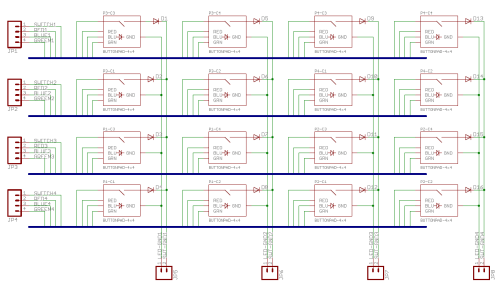 small resolution of button pad schematic