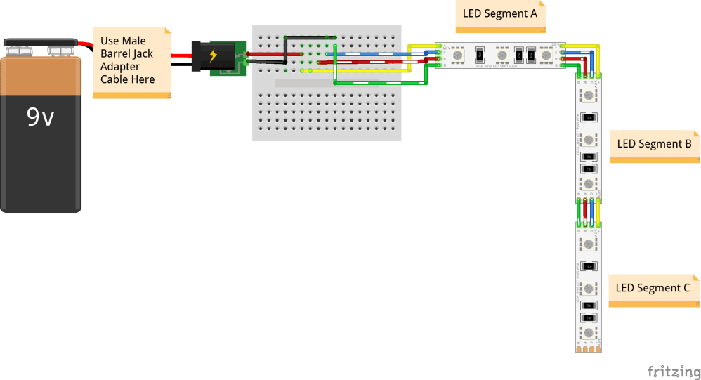 medium resolution of fritzing diagram wearable led harness circuit