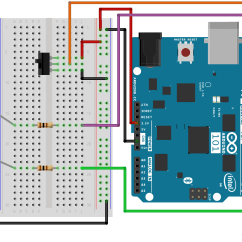 Breadboard Wiring Diagram 6 Way Round Trailer Plug Sik Experiment Guide For The Arduino 101 Genuino Board