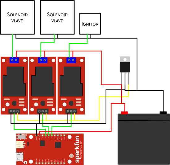 Power Flame Wiring Diagram