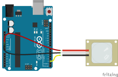 small resolution of pir motion sensor hookup guide learn sparkfun com rh learn sparkfun com bosch motion detector wiring diagram motion detector wiring to light