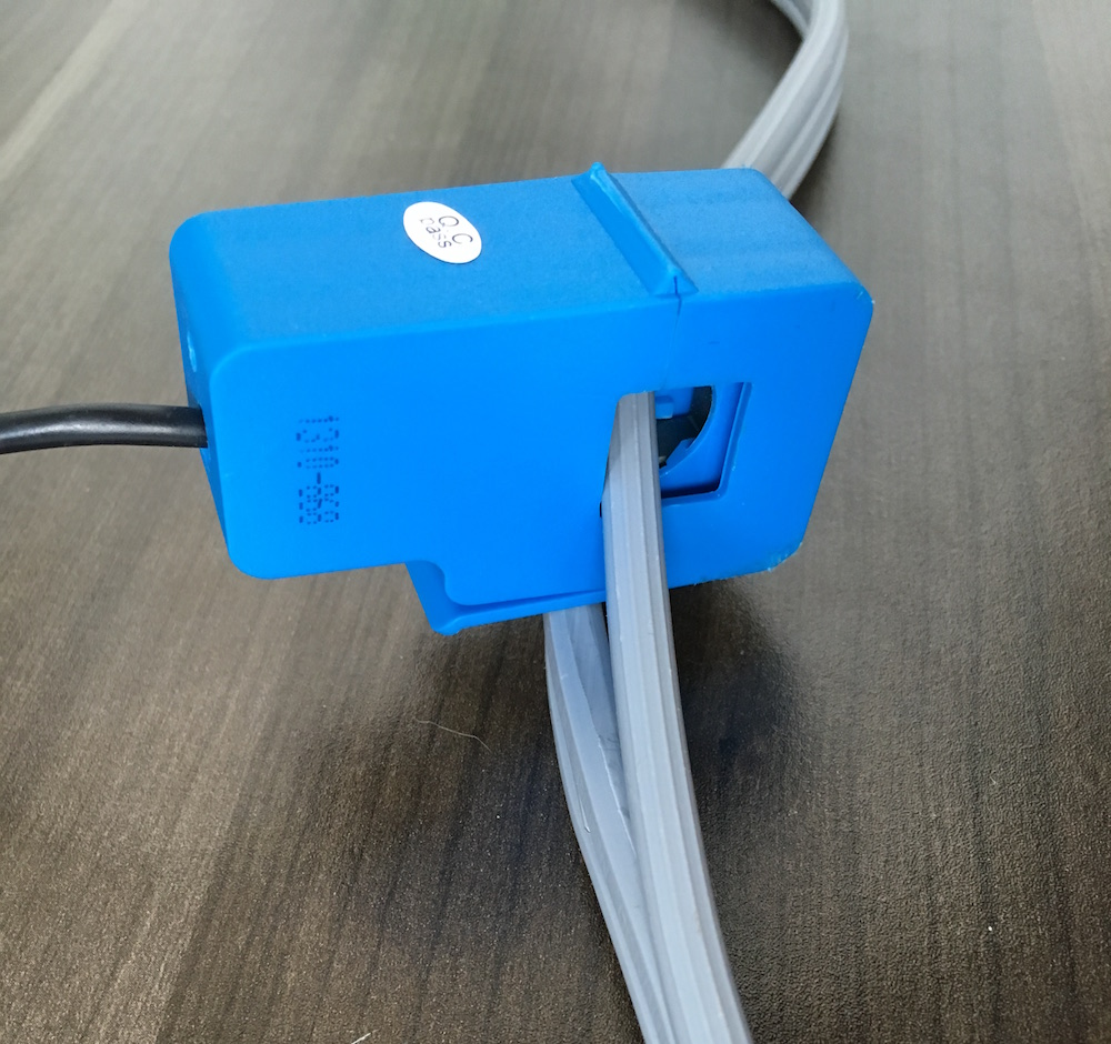 hight resolution of non invasive current sensor clamped