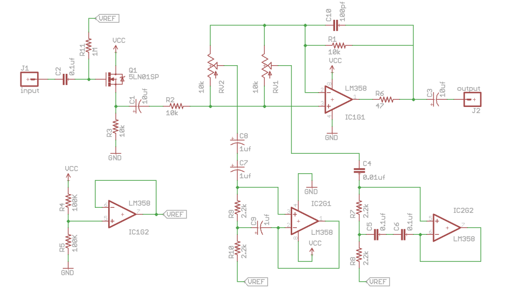 medium resolution of dual band eq schematic click to enlarge