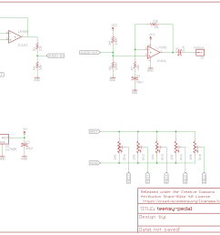 teensy pedal schematic click to enlarge  [ 1145 x 857 Pixel ]