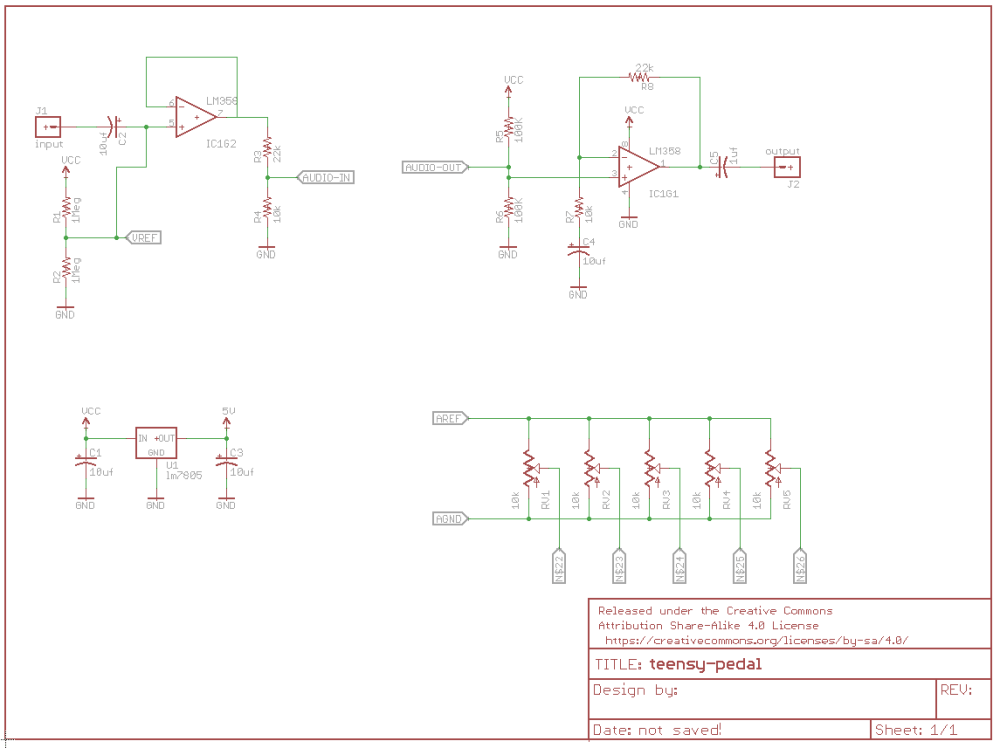 medium resolution of teensy pedal schematic click to enlarge