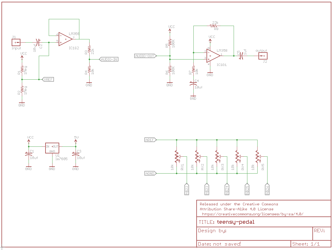 hight resolution of teensy pedal schematic click to enlarge