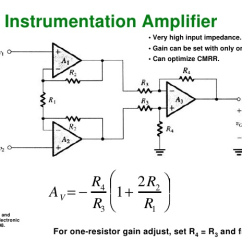Circuit Diagram Of Non Inverting Amplifier 1994 Ford Explorer Xlt Radio Wiring Introduction To Operational Amplifiers With Ltspice Learn Sparkfun Com The Instrumentation Perfectly Combines All Previous Material And In Cascade